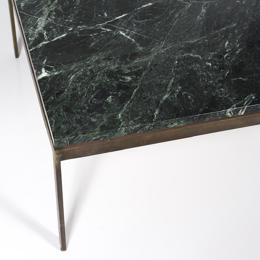 Marble and Bronze Coffee Table - 3