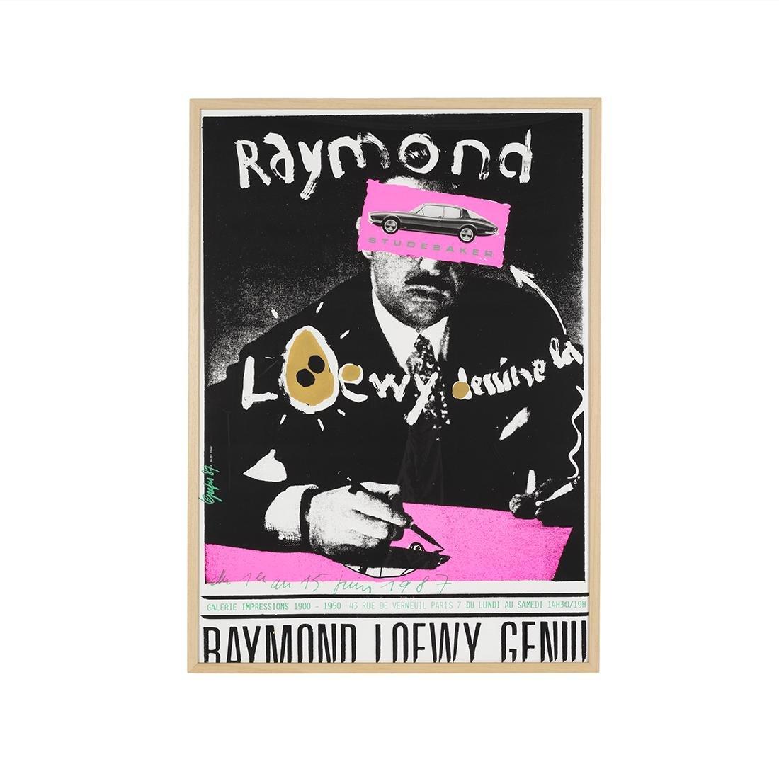 Grapus Raymond Loewy silk screen