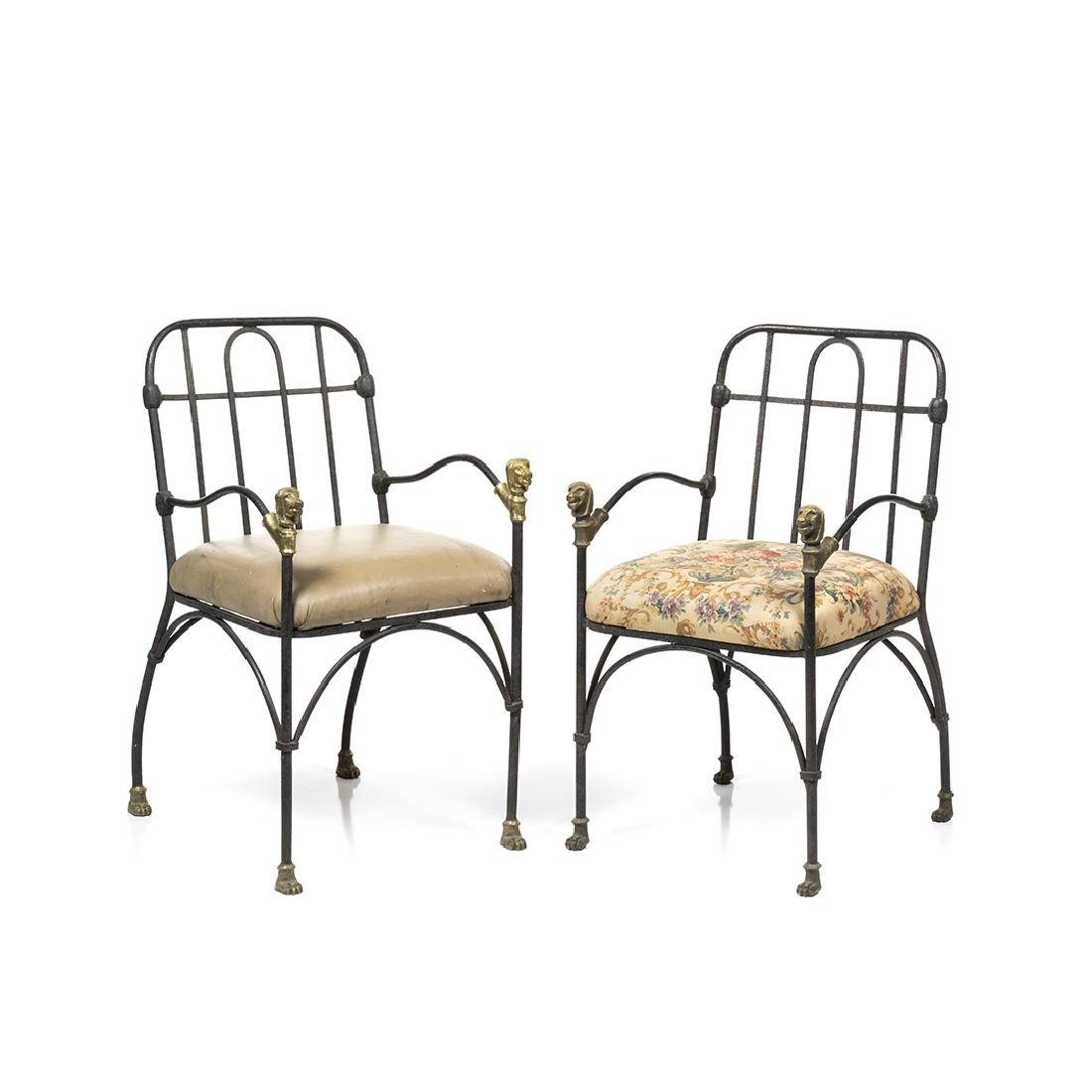 Diego Giacometti Style Chairs (2)