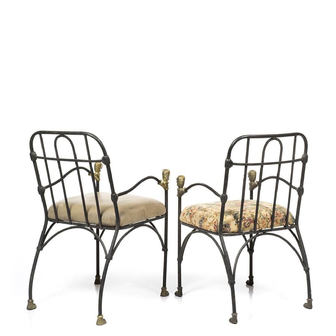 Diego Giacometti Style Chairs (2) - 3