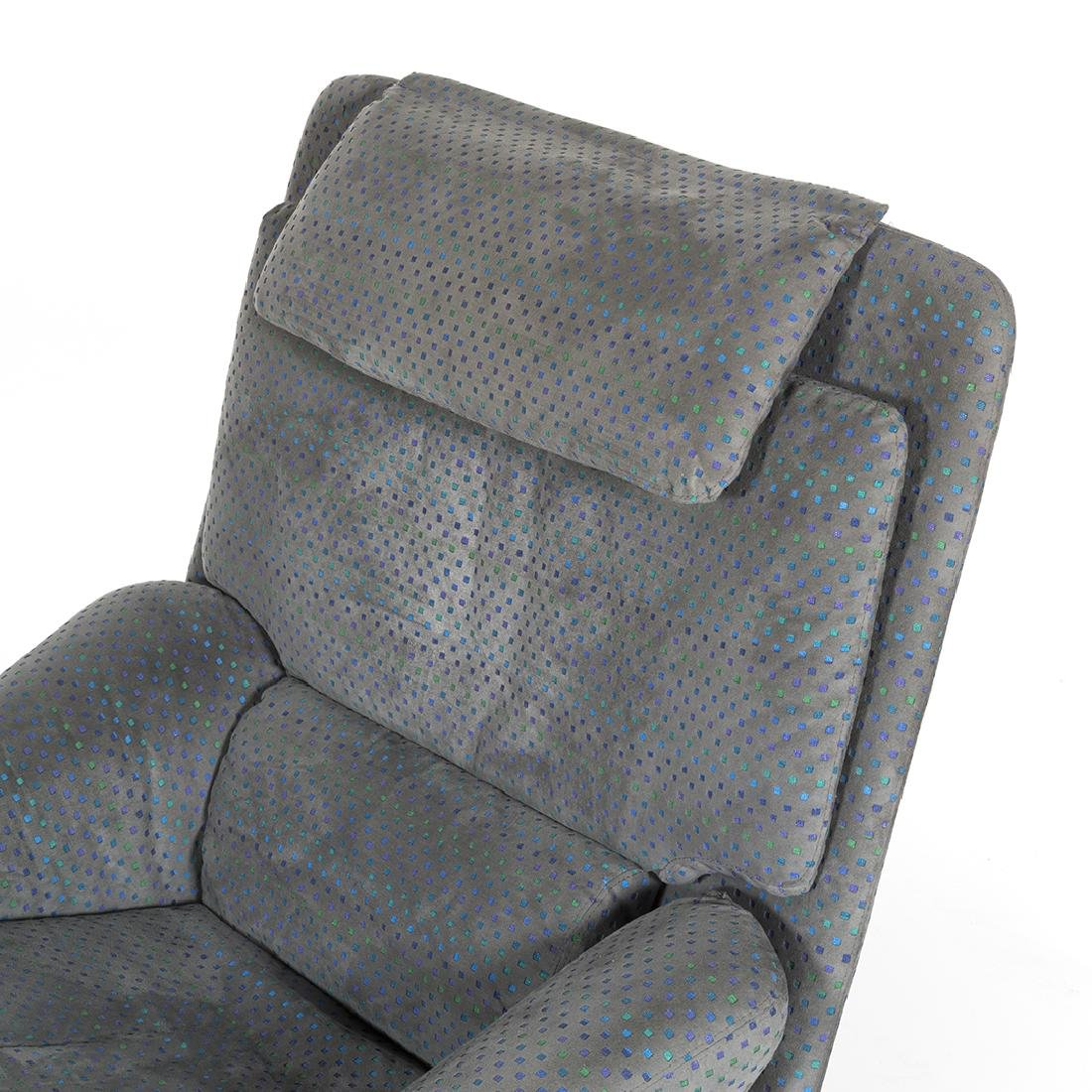 Saporiti Lounge Chair and Ottoman - 6