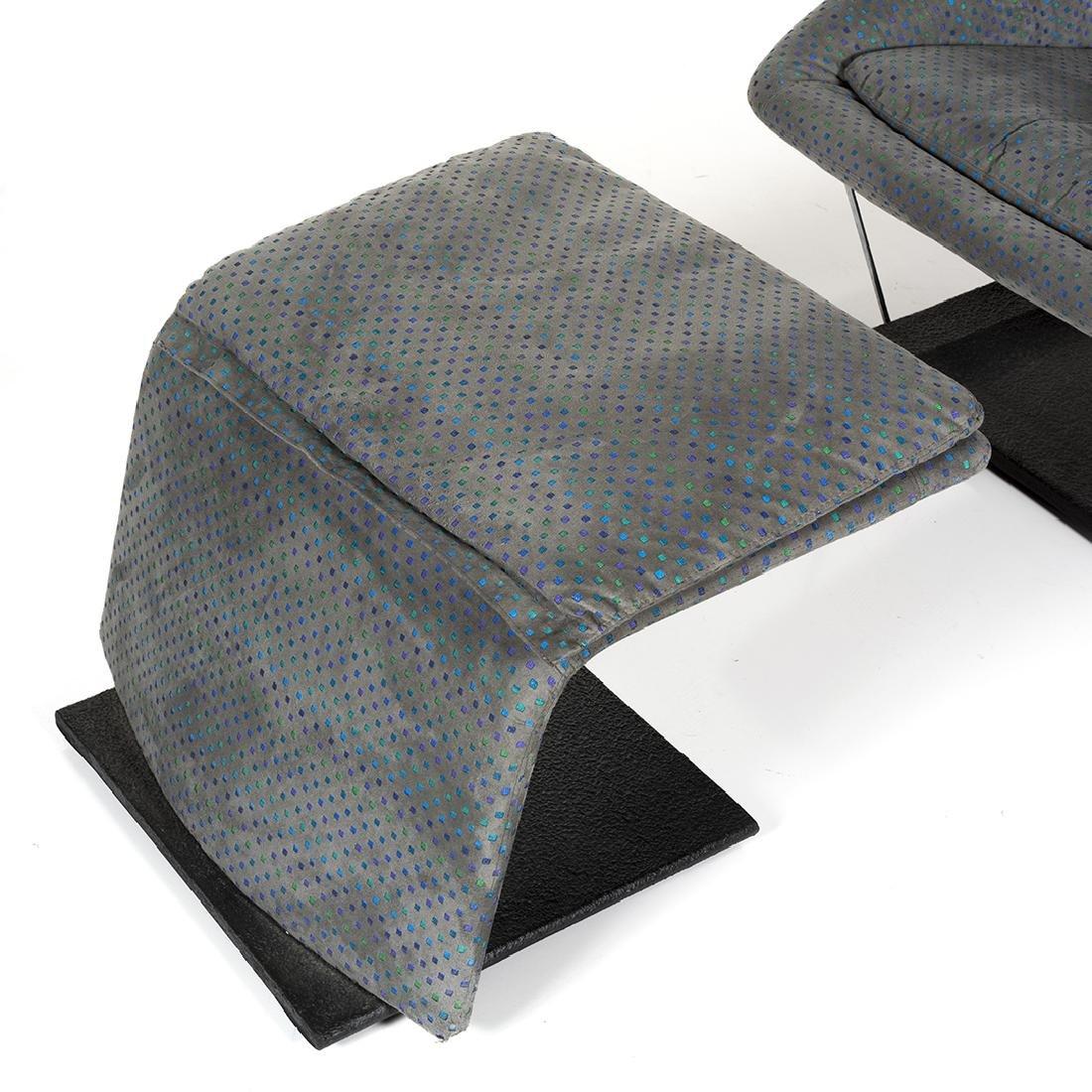 Saporiti Lounge Chair and Ottoman - 8