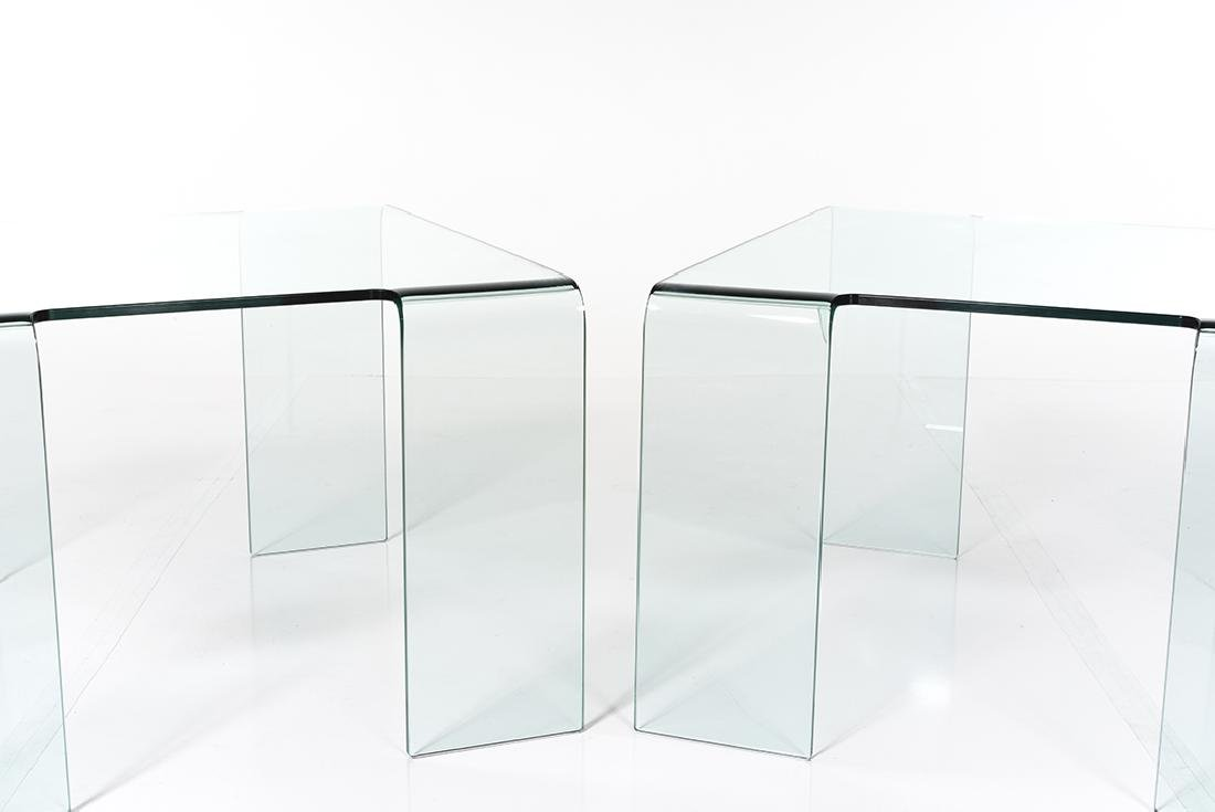 Bent Glass Coffee Tables (2) - 2
