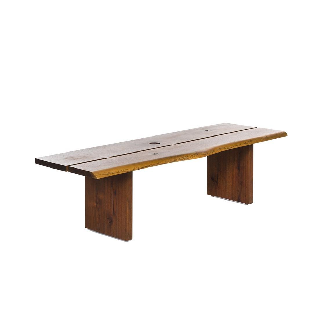 George Nakashima Style Bench
