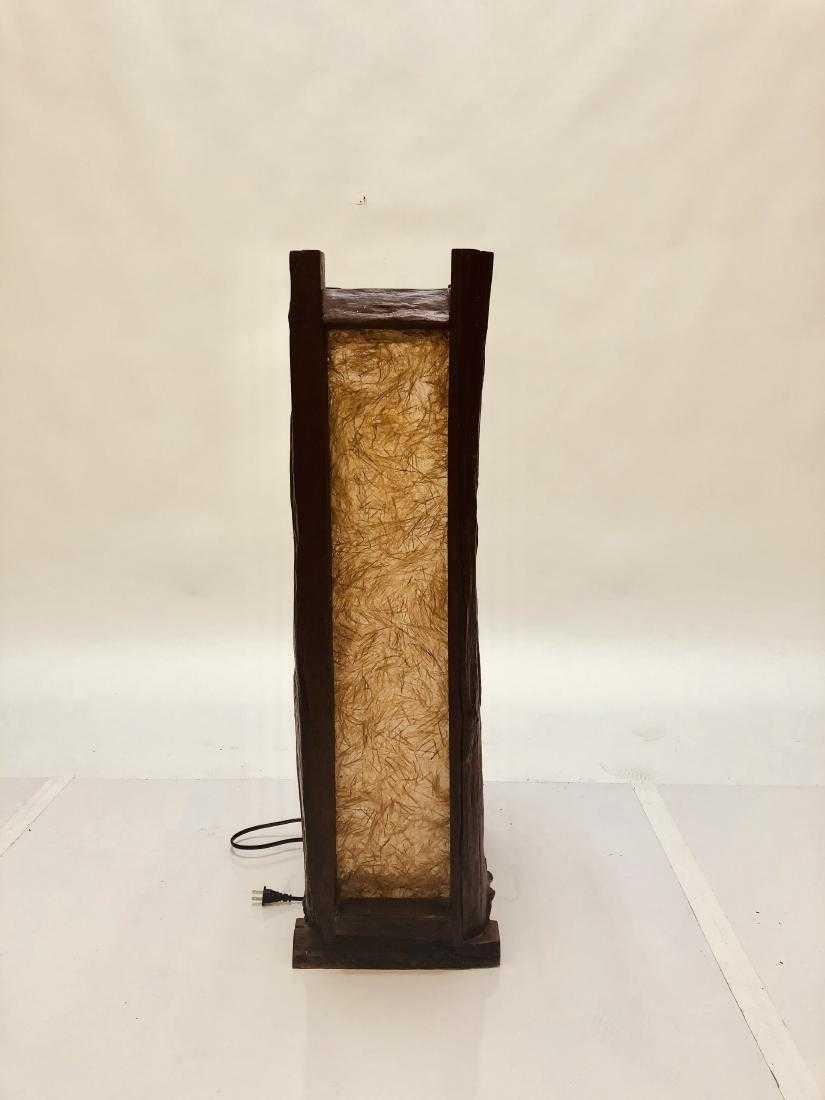 Natural Edge Floor Lamp - 4