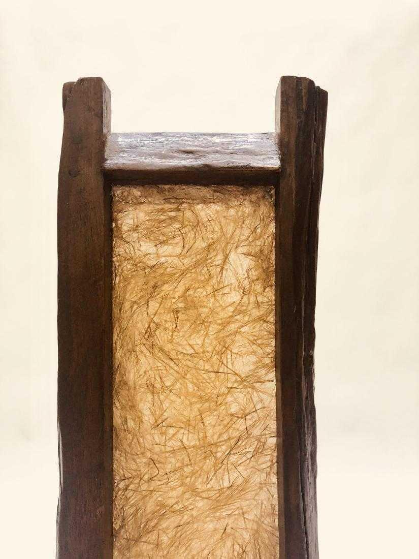 Natural Edge Floor Lamp - 5