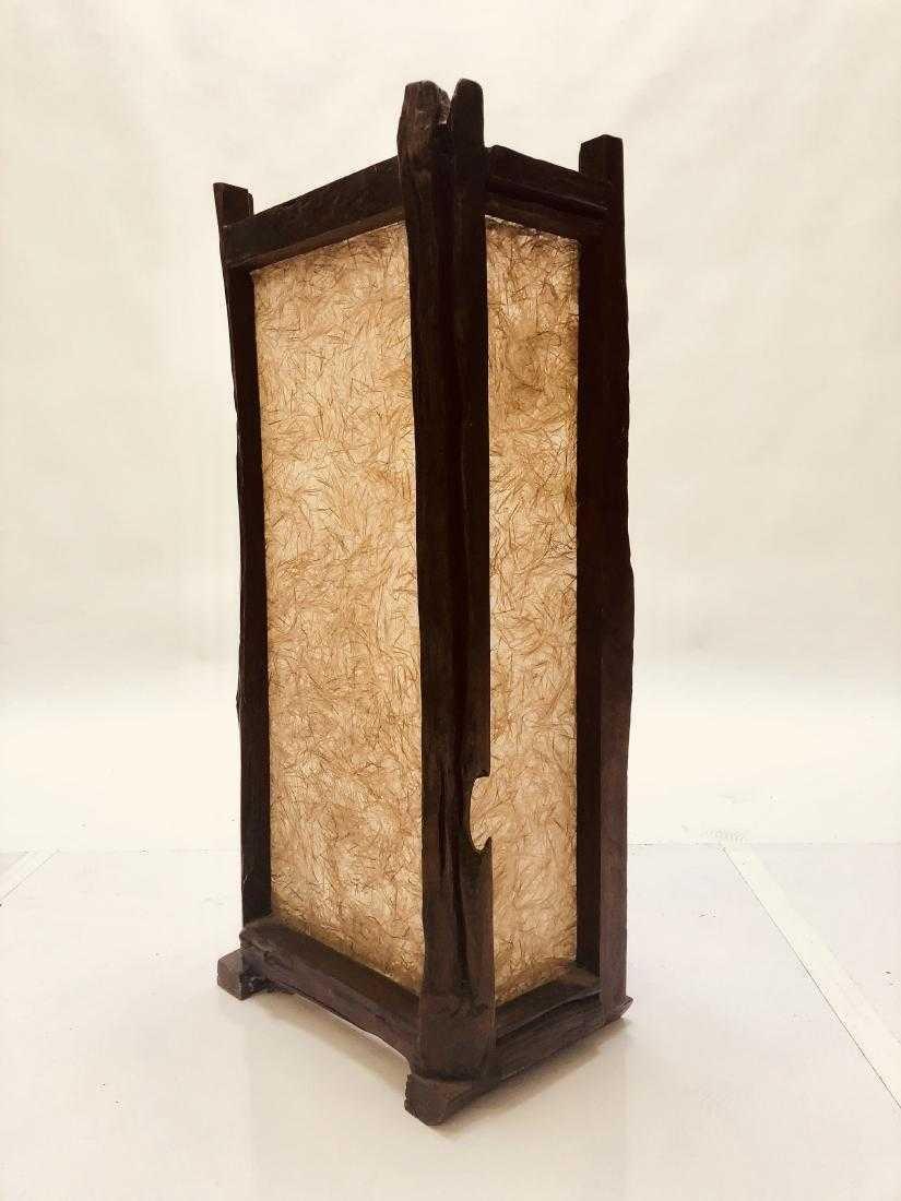 Natural Edge Floor Lamp - 7