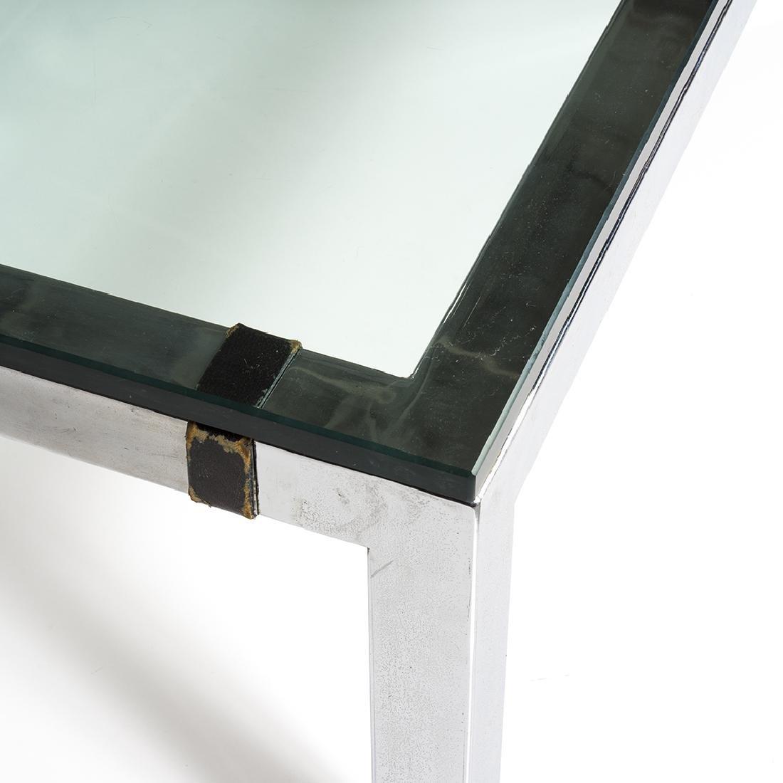 Chrome Coffee Table - 2