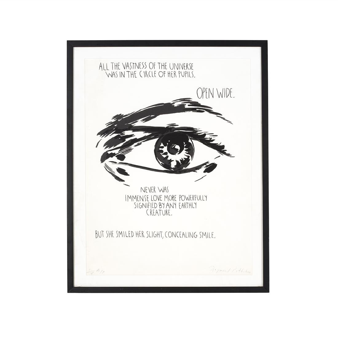 Raymond Pettibon Signed silk screen
