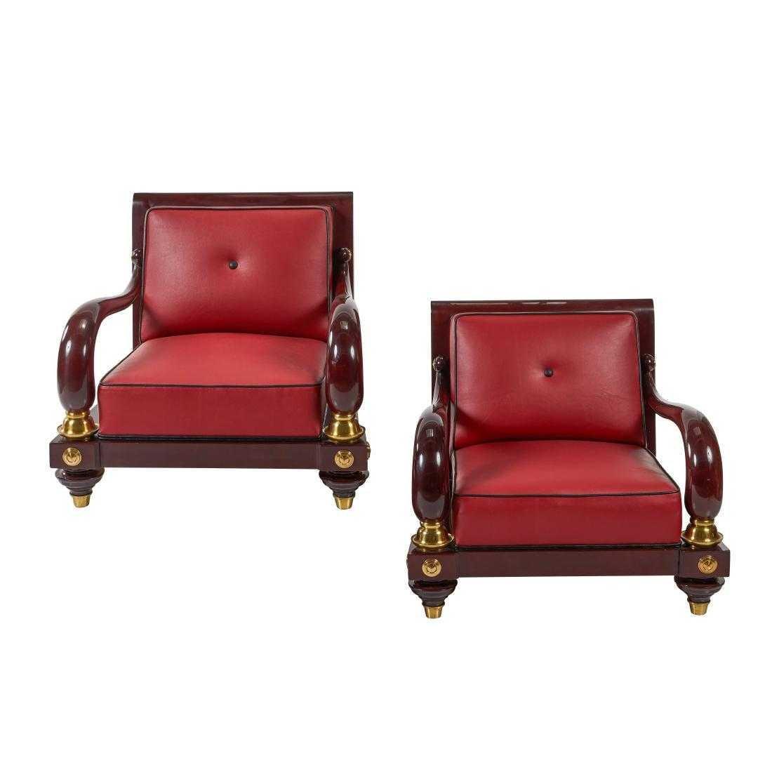 Octavio Vidales Lounge Chairs