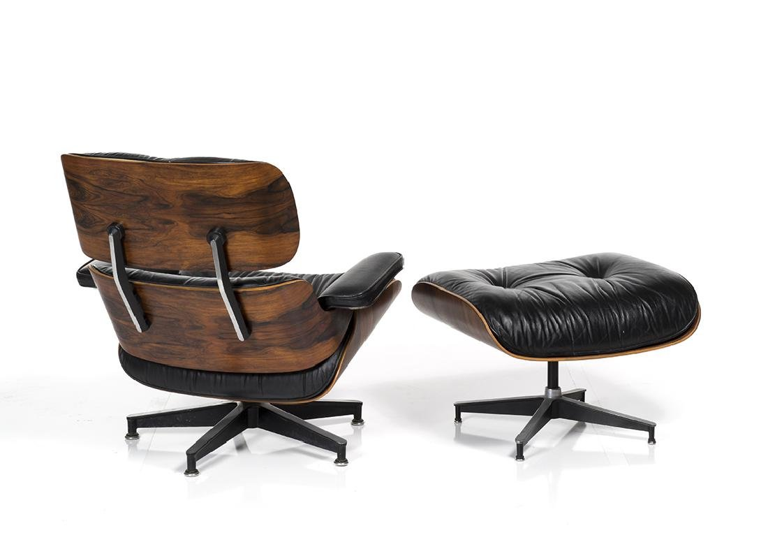 Charles Eames Lounge Chair and Ottoman - 3