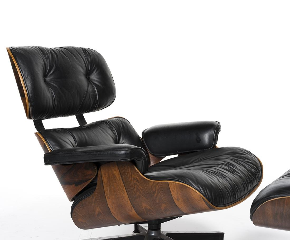 Charles Eames Lounge Chair and Ottoman - 6
