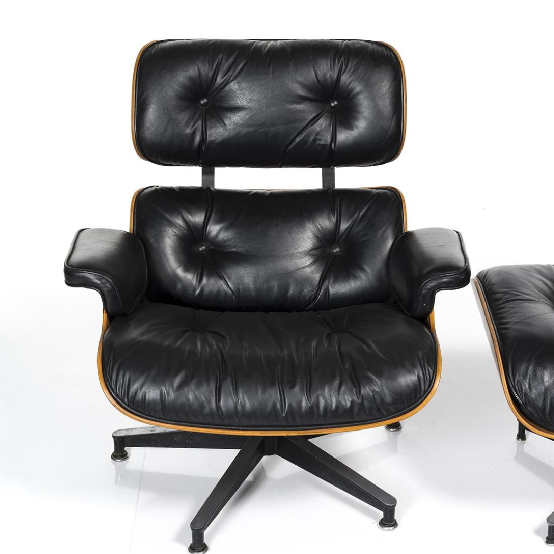 Charles Eames Lounge Chair and Ottoman - 7