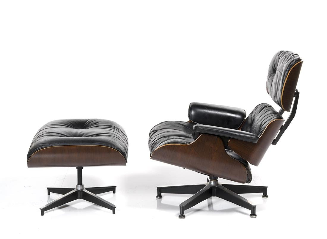 Charles Eames Lounge Chair and Ottoman - 2