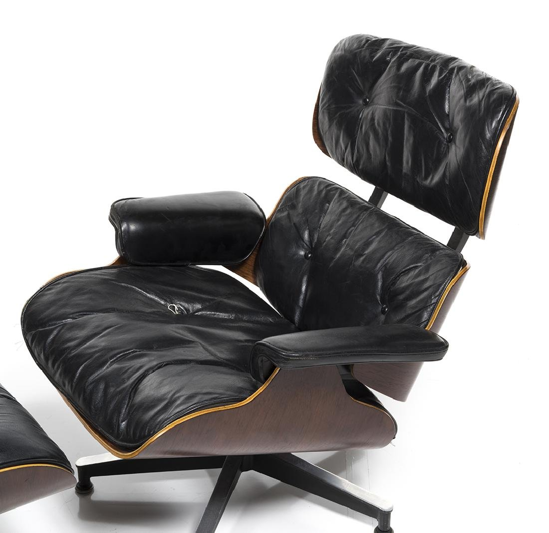 Charles Eames Lounge Chair and Ottoman - 4
