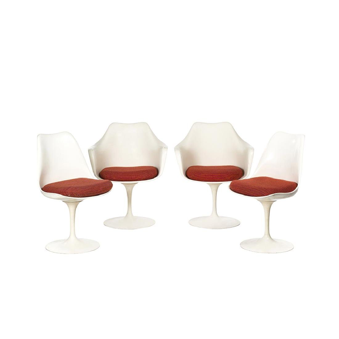 Eero Saarinen Tulip Chairs (4)