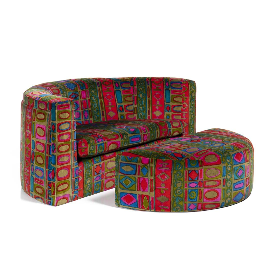 Milo Baughman Lounge Chair and Ottoman
