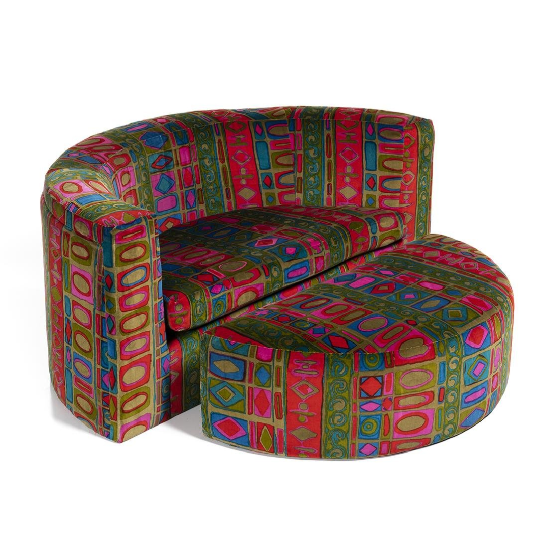 Milo Baughman Lounge Chair and Ottoman - 3
