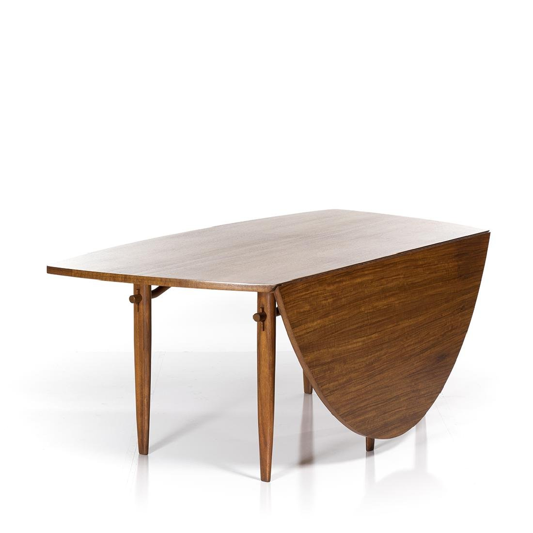George Nakashima Drop Leaf Table - 3