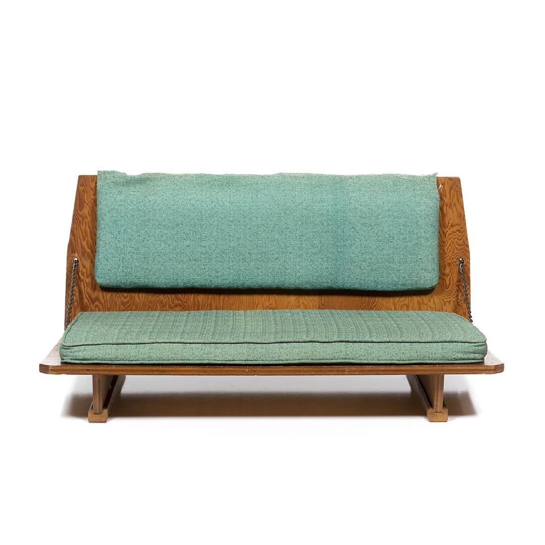 Frank Lloyd Wright Bench