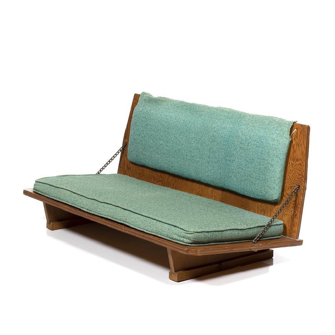 Frank Lloyd Wright Bench - 2