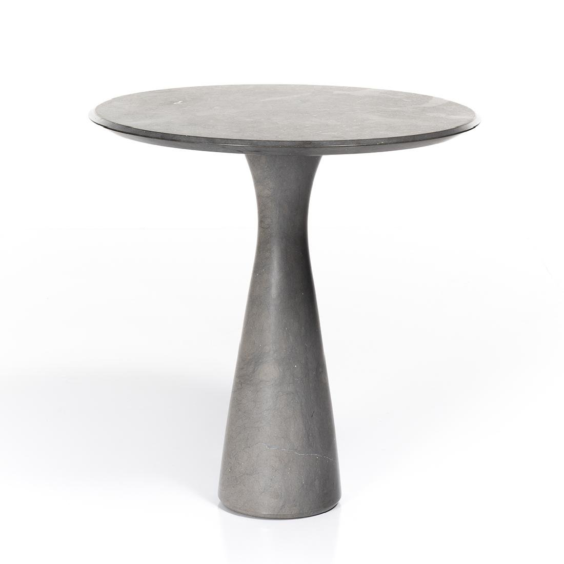 Angelo Mangiarotti Style Pedestal Table