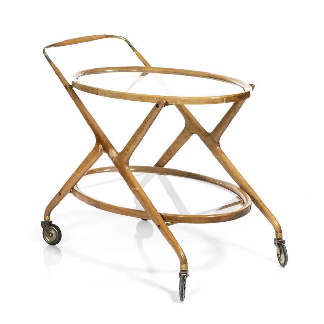 Gio Ponti Style Tea Cart