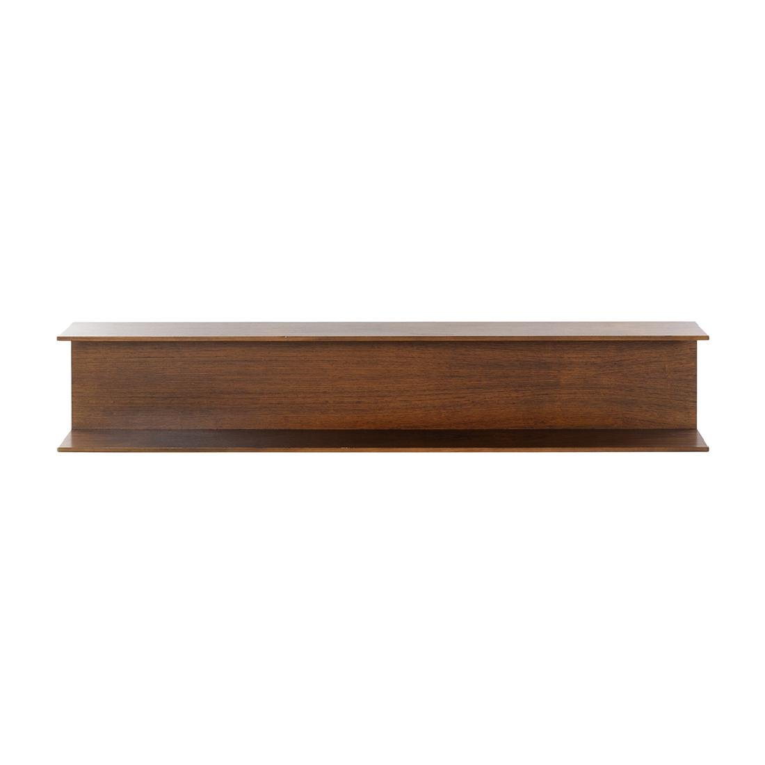 Rosewood Wall-Mounted Shelf