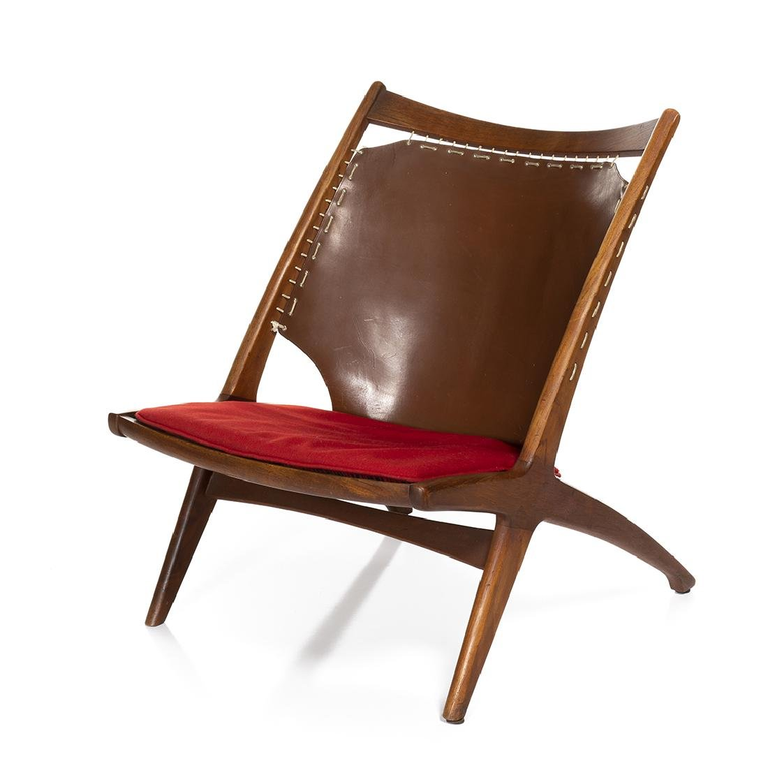 Fredrik Kayser and Adolf Relling Cross Lounge Chair