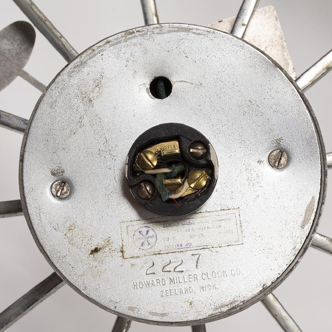 George Nelson Spike Clock Model 2227a - 3