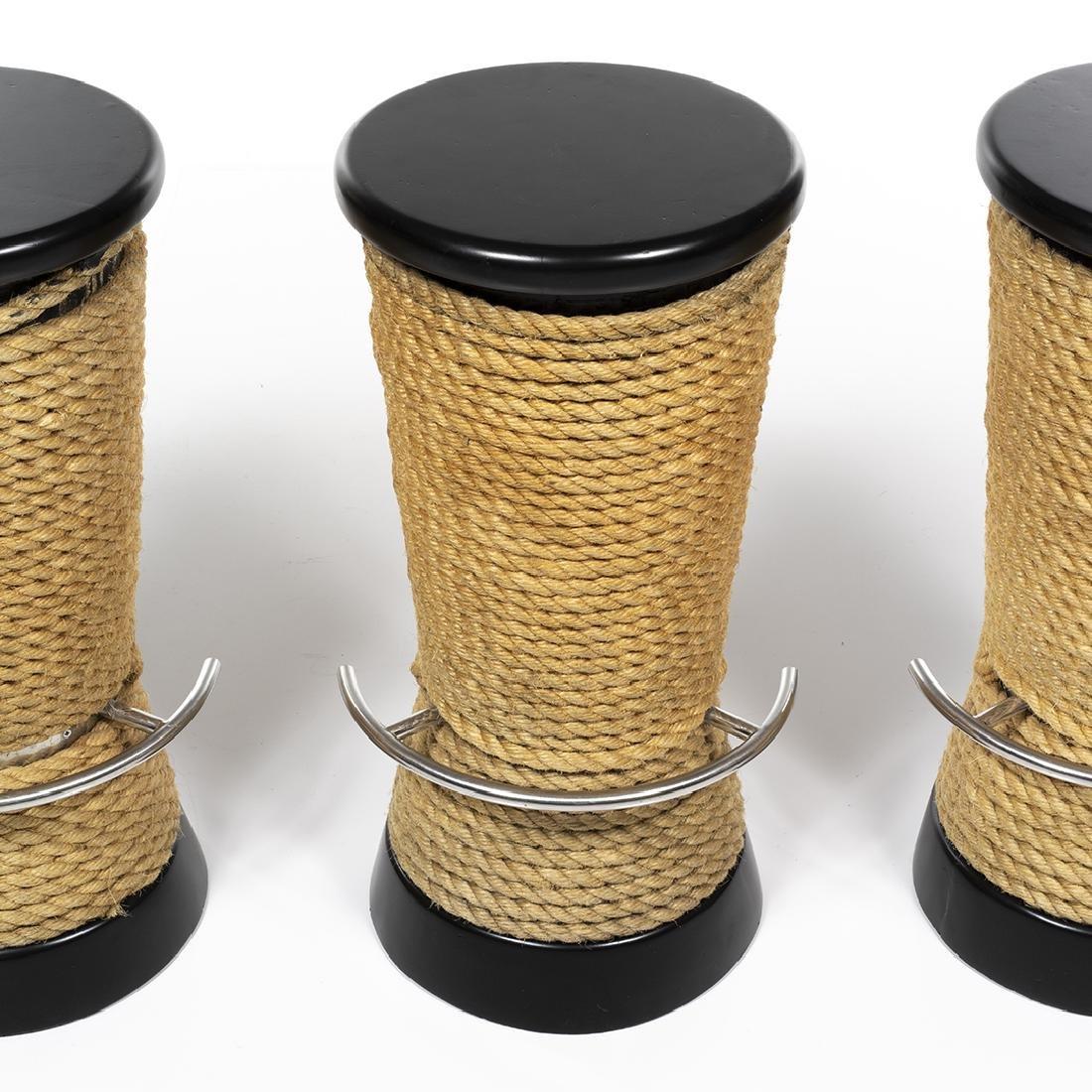 Rope Barstools (3) - 3