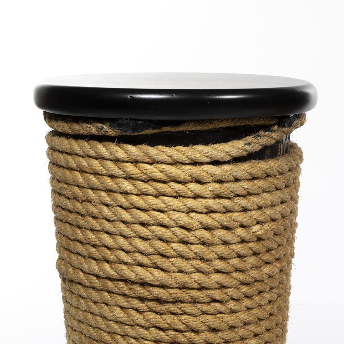 Rope Barstools (3) - 4
