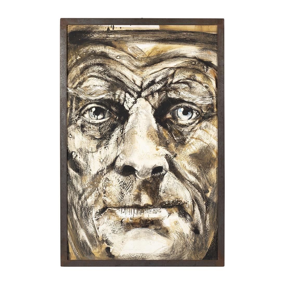 Samuel Beckett Oil Painting