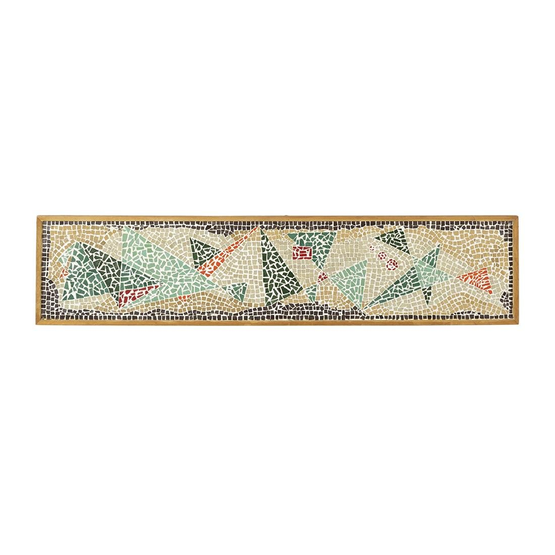 Modernist Abstract Tile Mosaic