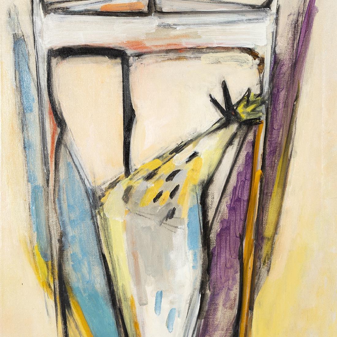 Manfred Schwartz Oil on Canvas - 3