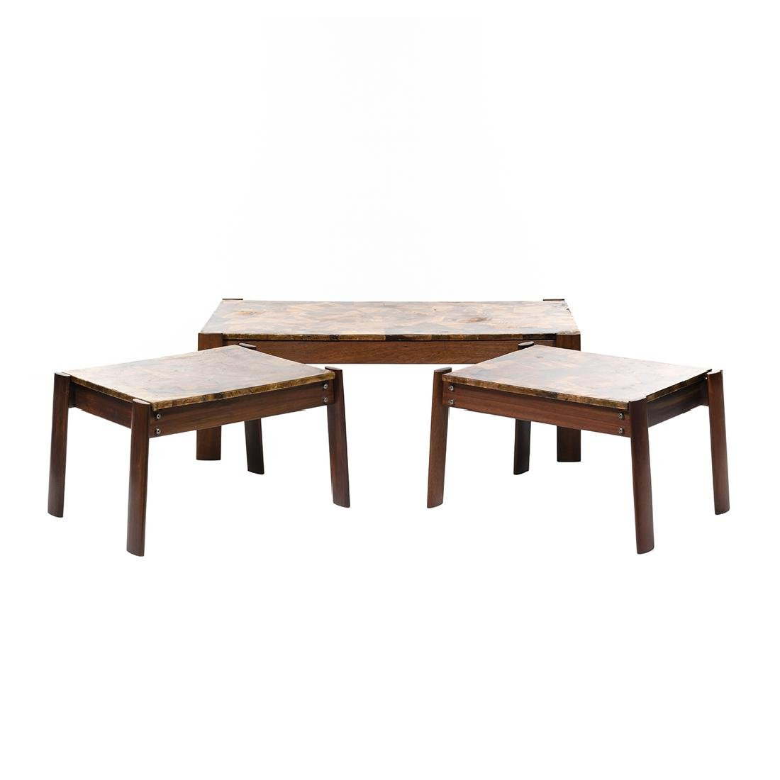 Percival Lafer Coffee Table and End Tables (3)