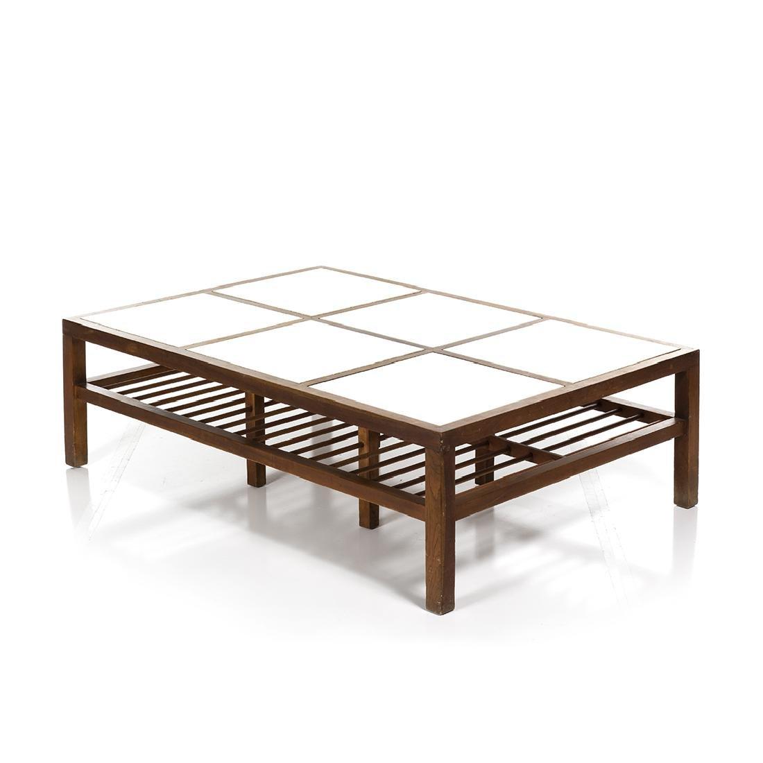 Mid-century Walnut Coffee Table - 2