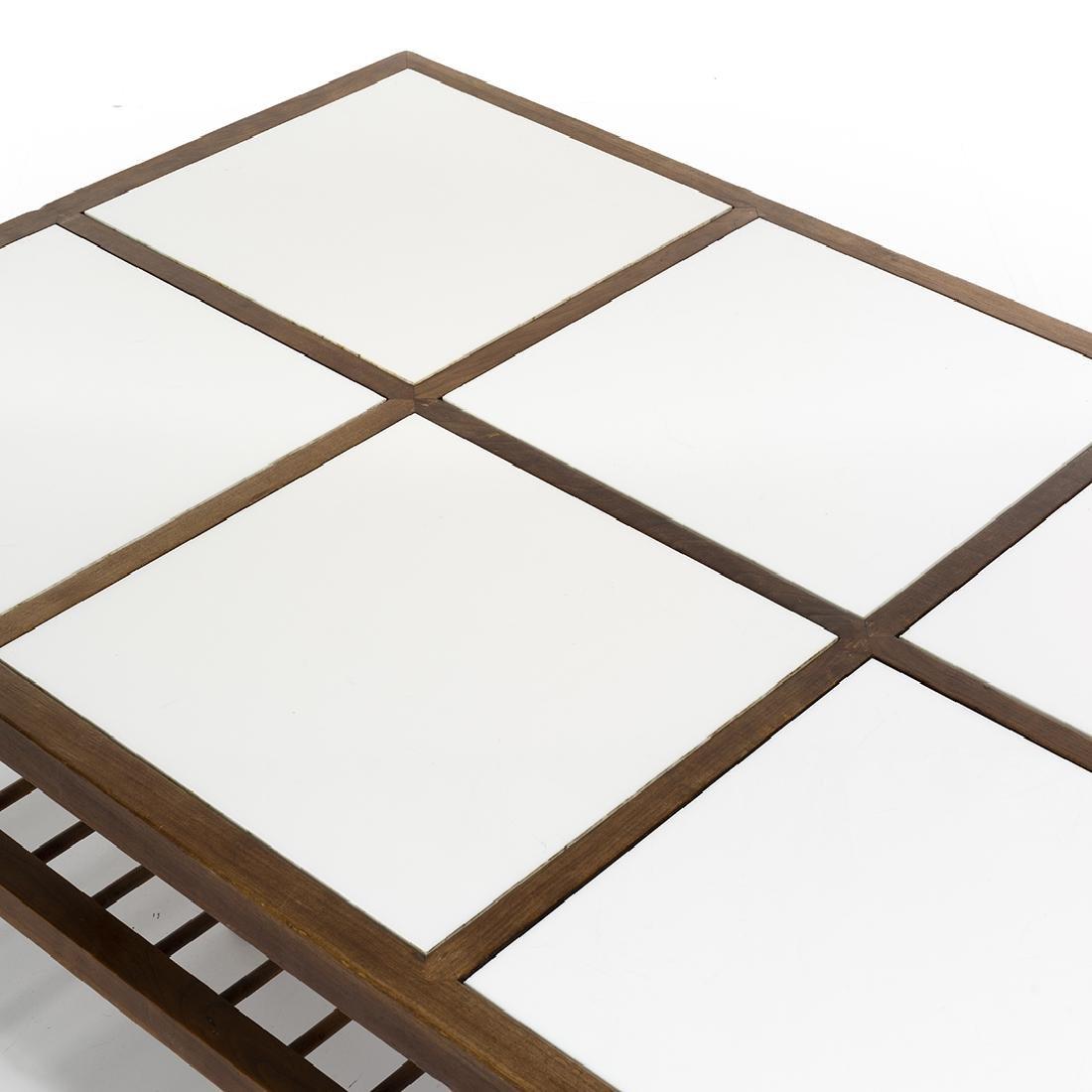Mid-century Walnut Coffee Table - 4