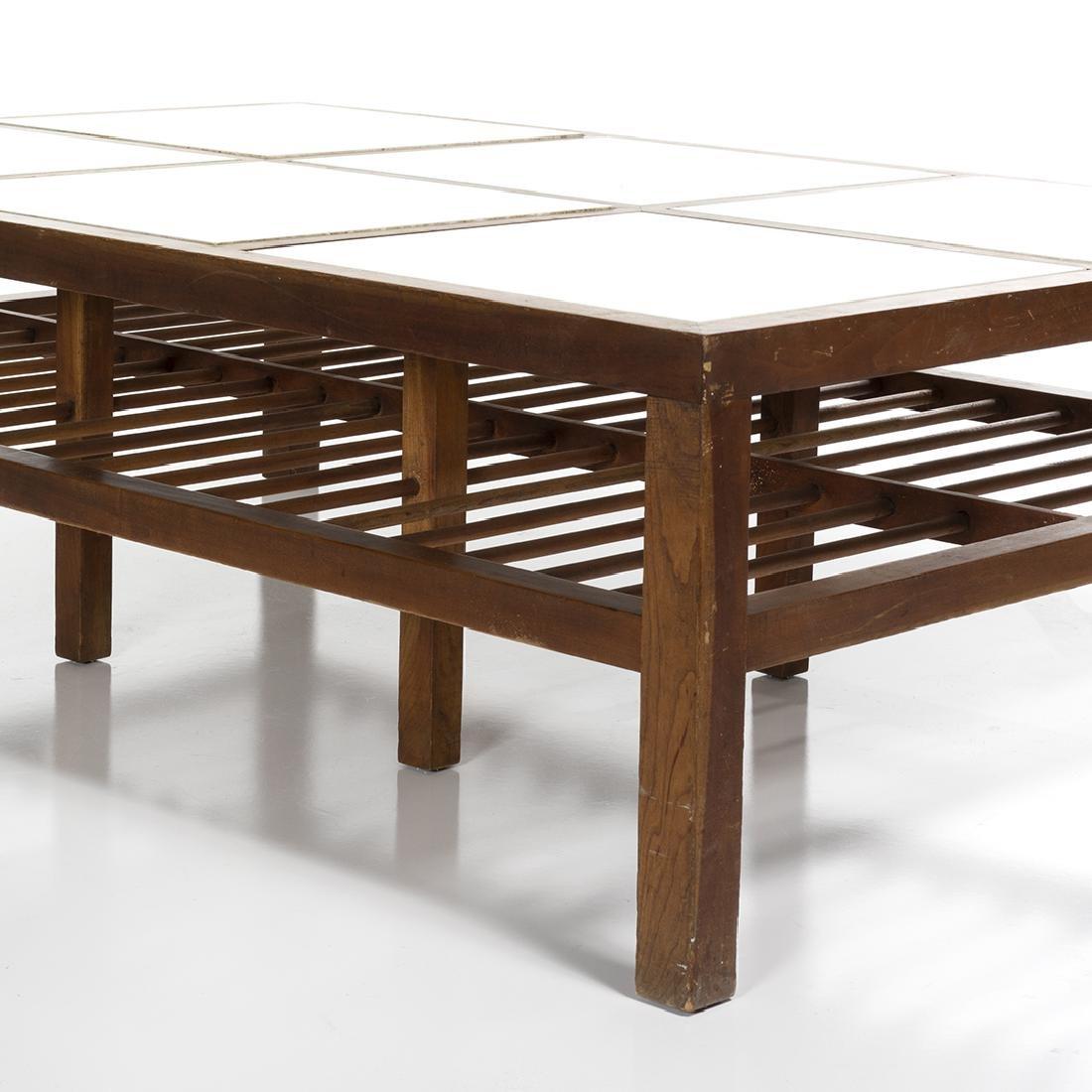 Mid-century Walnut Coffee Table - 5