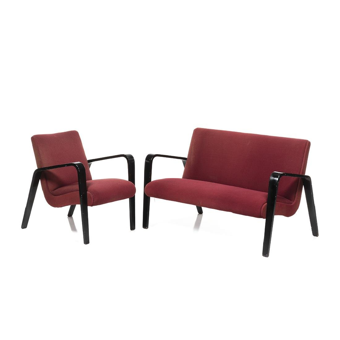 Thonet Chair and Settee