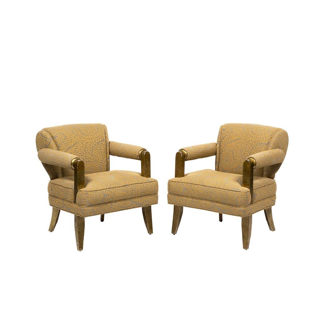 Larry Laslo Club Chairs (2)