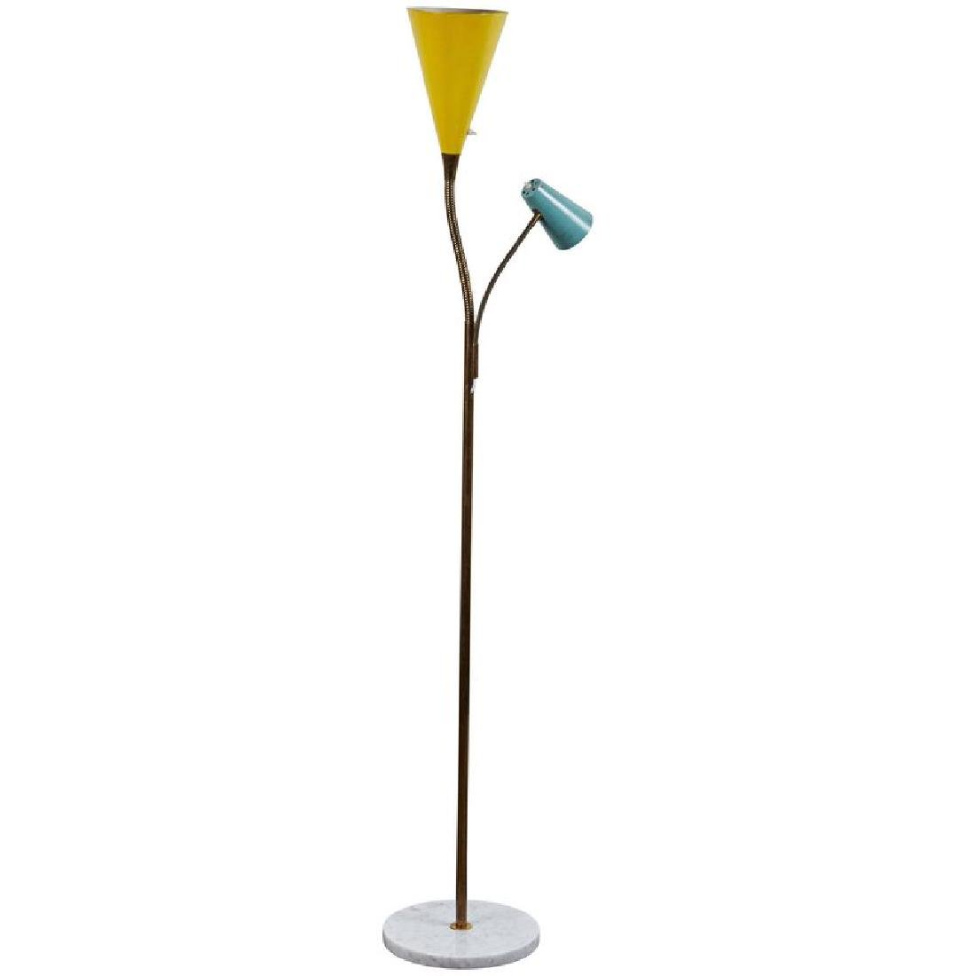 Gino Sarfatti Model 1044 Floor Lamp