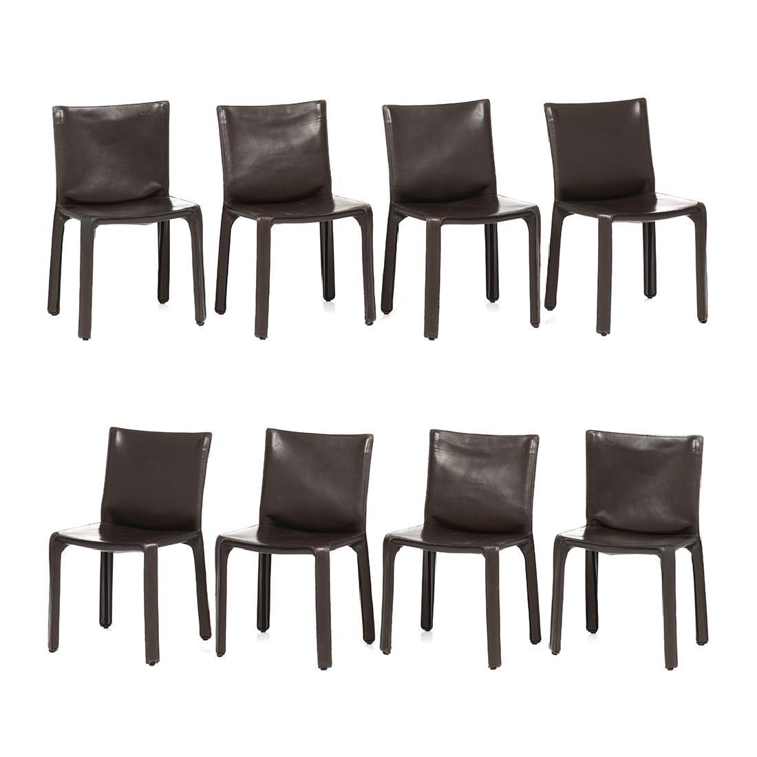 Mario Bellini Cab Chairs (8)