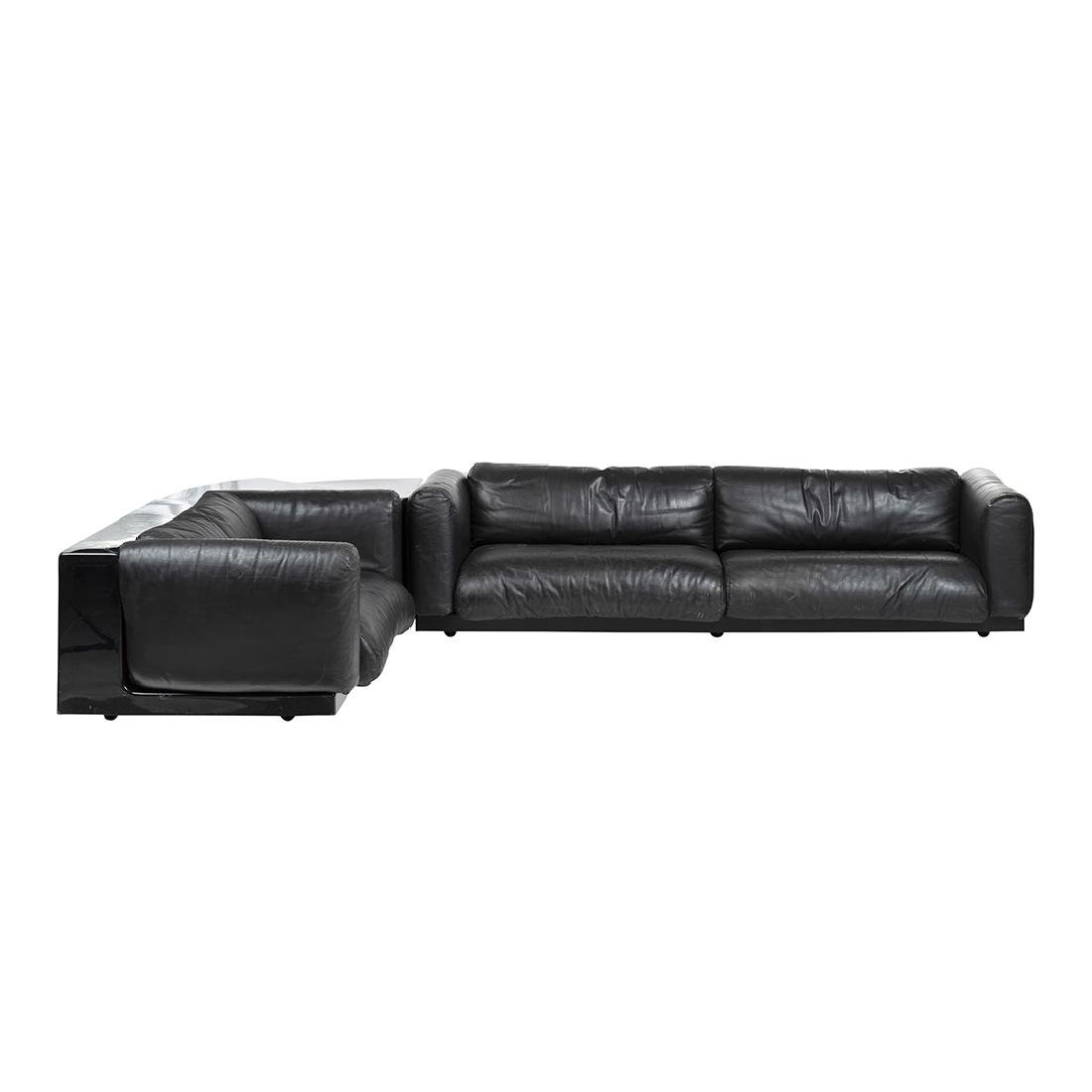 Cini Boeri Leather Sectional