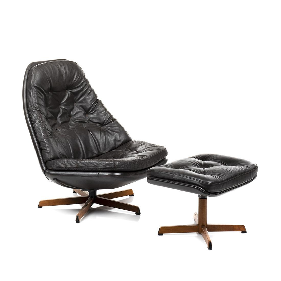 Madsen and Schubell Danish Lounge Chair