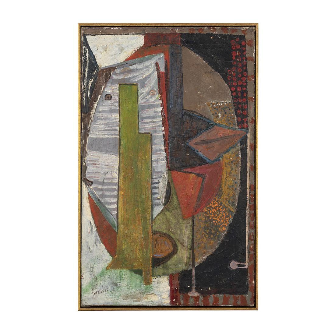 Modernist Oil on Canvas