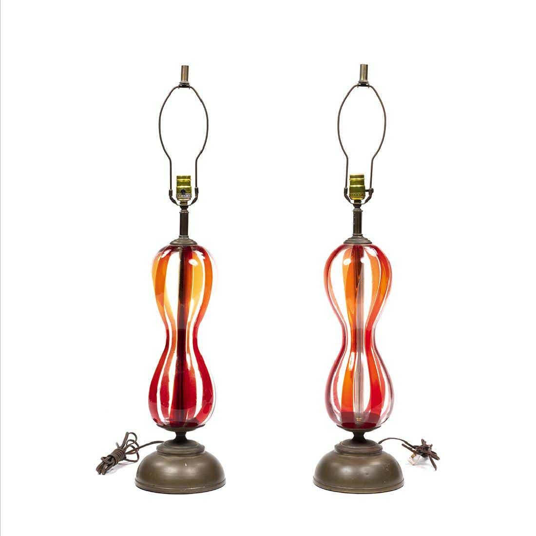 Murano Table Lamps (2)