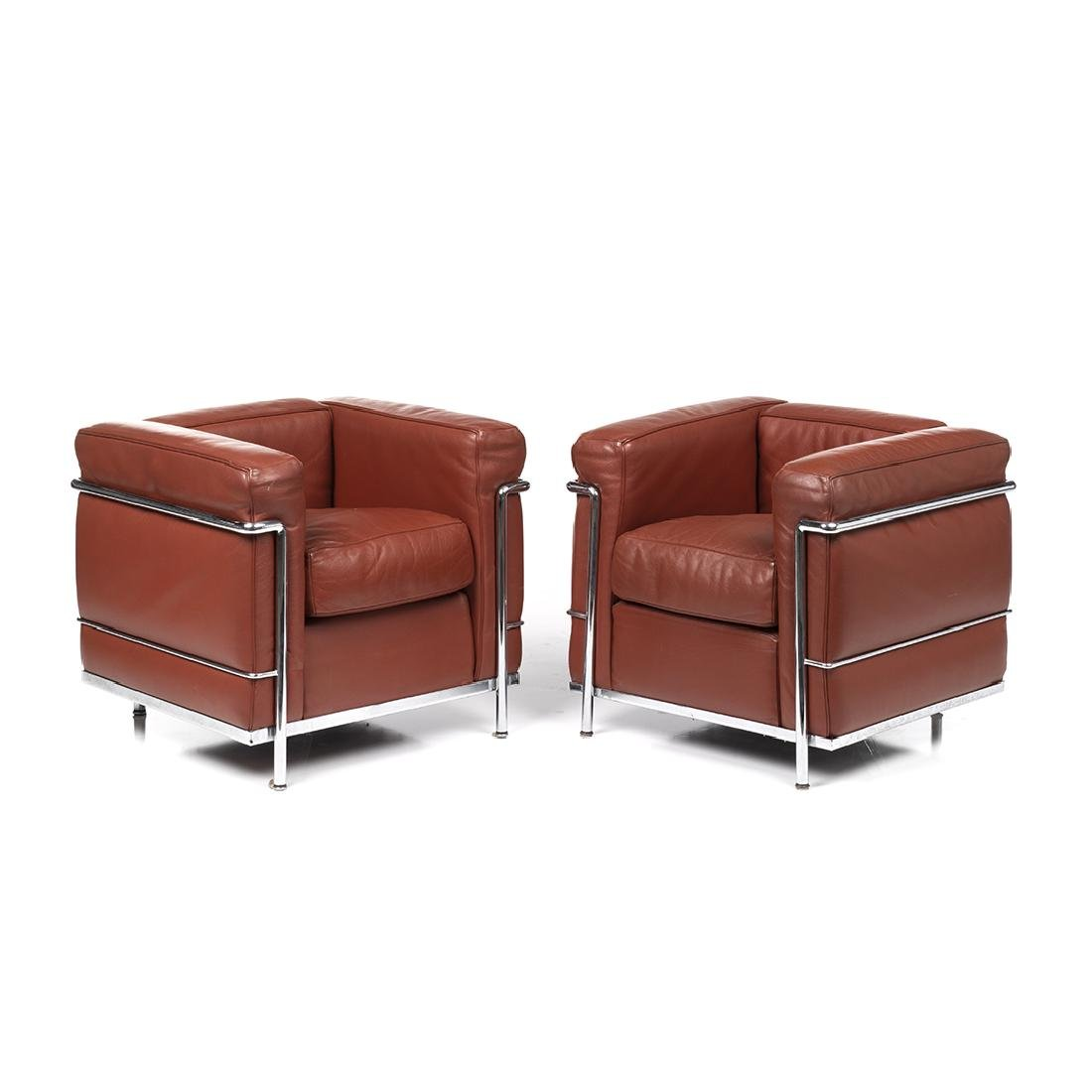 Le Corbusier LC2 Easy Chairs (2)