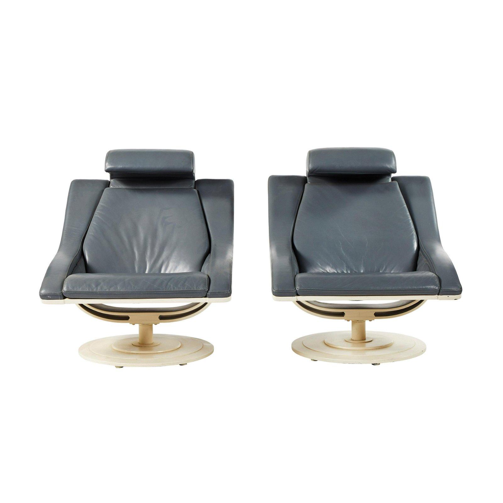 Italian Lounge Chairs (2)