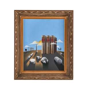Giorgio de Chirico Style Painting